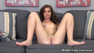 Crazy pornstar Emma Stoned in Exotic Masturbation, Solo Girl porn scene