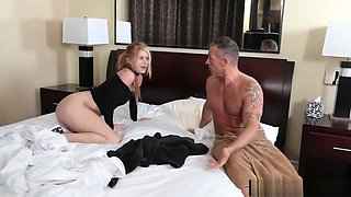 Petite Babysitter Pounded By Masculine Man In His Bedroom