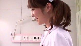 Incredible Japanese whore Miku Ohashi in Crazy Blowjob, Nurse JAV clip