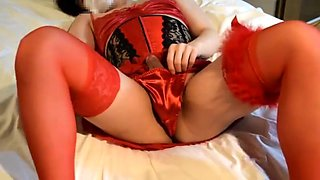 Crossdress all red