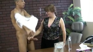 jerky girls - giant cock taming