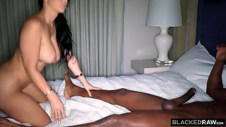 BLACKEDRAW Huge latina ass is dominated by bbc