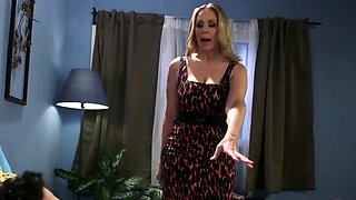 Julia Ann Dominates Horny Guy