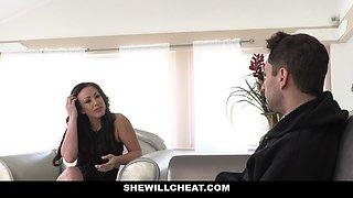 SheWillCheat - Horny Wife Fucks Husbands Partner