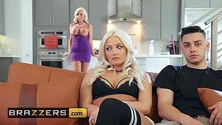 Brazzers - Mommy Got Boobs - Alena Croft Jessy Jones - Getting It On With My Girlfriends Mom