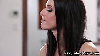 Stepmom milf seducing younger guy into sex
