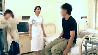 Japanese hospital nurse fucks 2
