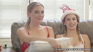 Kristen Scott & Reagan Foxx & Mona Wales & Lena Paul & Tommy Gunn in BTS - Family Holiday - SweetSinner