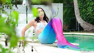 Jessica Jones is a naughty mermaid craving a fat boner