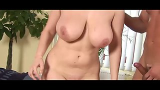 Really mother try cum inside by son