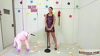Fucking machines wet first time Talent Ho
