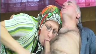 Grandma Does Her Housework