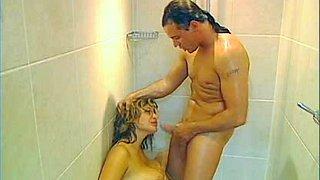 Busty milf fuck in shower