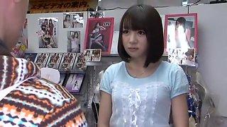 Incredible Japanese girl Hitomi Fujiwara in Crazy Blowjob, Swallow Сum JAV movie