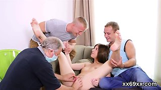 Doctor gazes hymen physical and virgin chick drilling58qVP