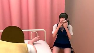 3D his nurse and gilfriend love to take care of him