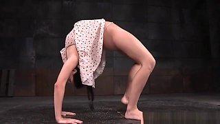 Bound Flexible Sub Tied By Maledom