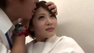 asian Office girls nylons and pantyhose time stop part 4