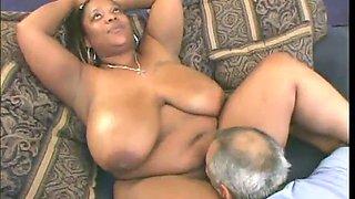 african bbw fucked 2 dick