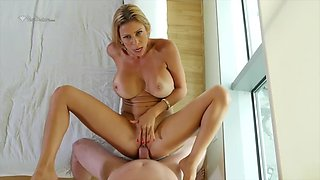 gorgeous alexis fawx gets her vagina filled with sperm after tender sex