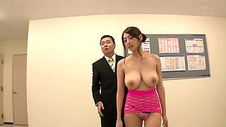 Horny Japanese girl in Exotic HD, Group Sex JAV clip