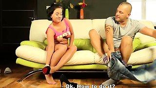Chesty Black Csoda gets her virginity taken