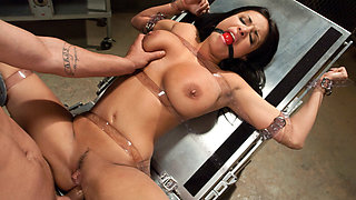 Mr. Pete & Anissa Kate in The French Prostitute:  Tormented in Bondage and Fucked in the Ass - SexAndSubmission