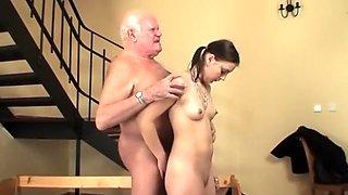Old Stud Young Slut #15, Scene 3