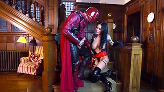 Voluptuous milf super hero hardcore XXX latex scenes