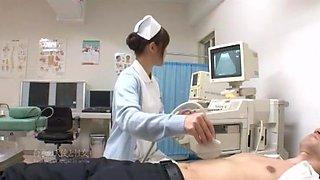 Best Japanese whore Megumi Shino in Fabulous Medical JAV scene