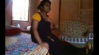 bengali college student shows her tits
