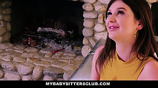 MyBabysittersClub- Cute Teen Fucks Big Cock Boss