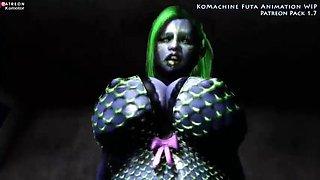 3d busty animated alien slut sex