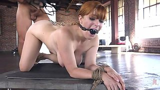 she loves to be bound and fucked