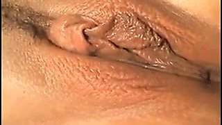 Close up with anime pussy getting finger fucked