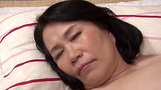 Japanese grandmother Miyamae Nami fucked hard