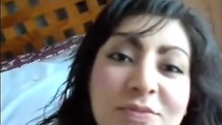 Perfect Mexican babe lets to finger her pussy