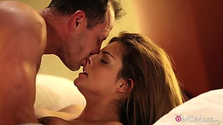 Best pornstars George, Clarisa in Horny Big Tits, MILF sex scene
