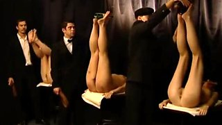 Paddle and caning contest
