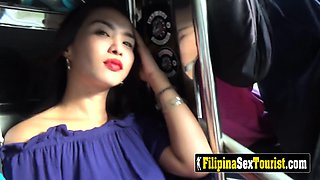 AMATEUR POV hardcore sex with DIRTY Filipina inside ROOM