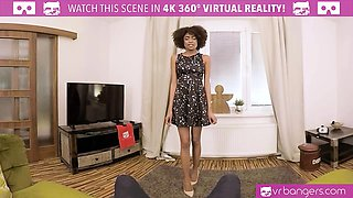 VR PORN-Hot Ebony Student Get Fucked Hard By Her Teacher