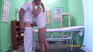 Horny doctor got lucky on exam