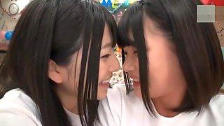 Japanese schoolgirls after-school non-stop lesbian orgy full video 2h 09 m
