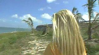 playful camel toe is filmed film video 1