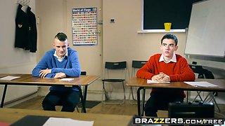 Brazzers - Big Tits at School - Teacher Tease scene starring Blanche Bradburry Jordi El Nino Polla