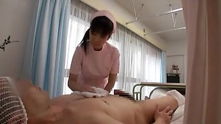 Amazing Japanese model Mio Kuraki, Himari Seto, Hina Tokisaka in Exotic Stockings, Nurse JAV scene