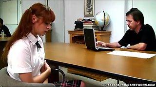Serina school spanking