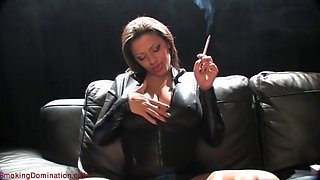 alexis smoking