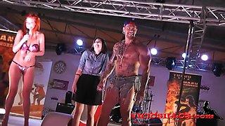 Rob Diesel y espontanea en el FEDA