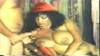 Classic ebony milf enjoy big dick